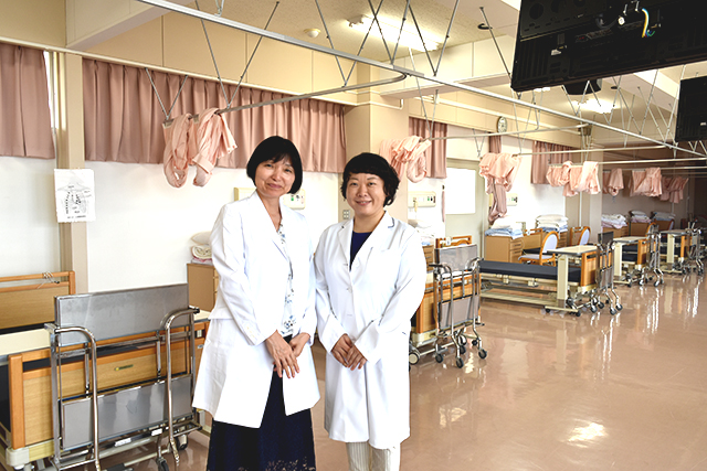 看護学科 体験授業